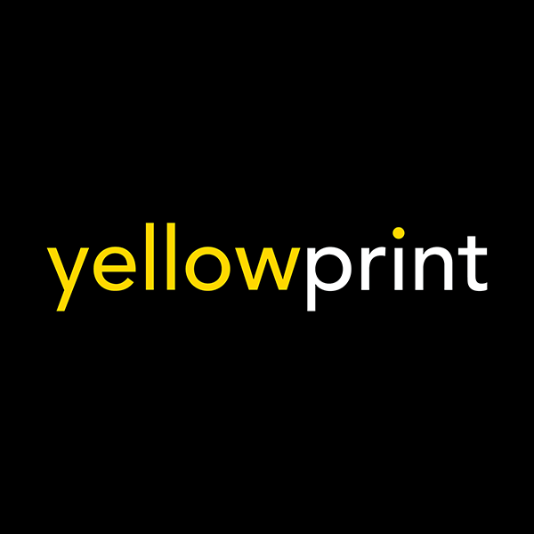 Yellow Print Logo